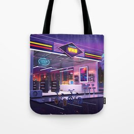VHS Video Store Tote Bag