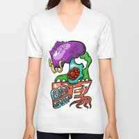 friendship V-neck T-shirts featuring Friendship by Rory M