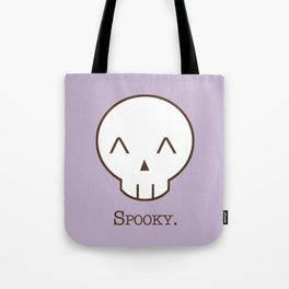 Spooky Skull Kawaii | Halloween Is Coming! Tote Bag