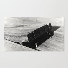 Old deck Canvas Print