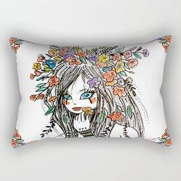 Remember the Meadows Rectangular Pillow