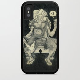 Sitting Heart iPhone Case