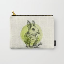 rabbit sitting Carry-All Pouch