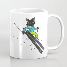Ski action Coffee Mug