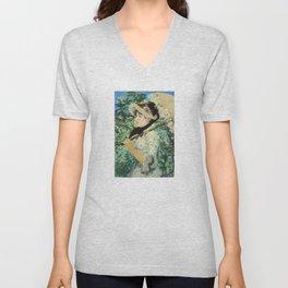 Manet's Jeanne Unisex V-Neck