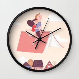 Never ending story Wall Clock