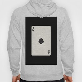 Ace of Spades Card Hoody