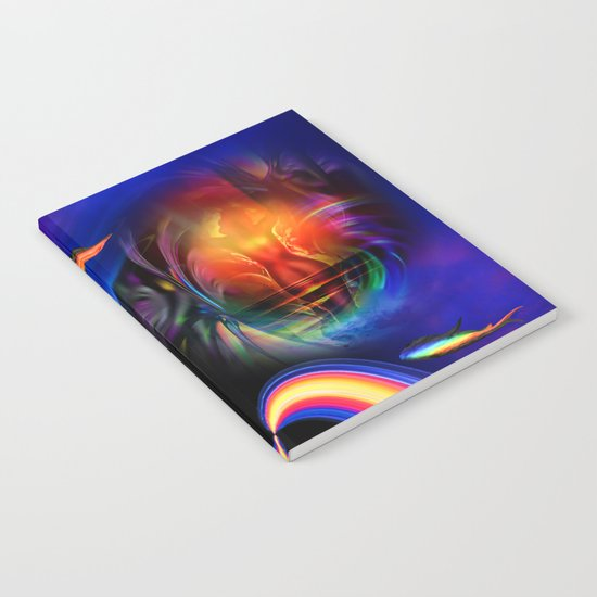 Heavenly apparition 2 Notebook