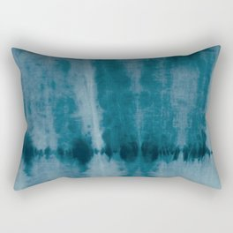 Tye Dye Denim Rectangular Pillow