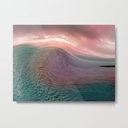 Tidal Wave Metal Print
