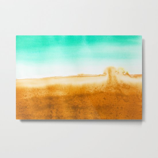 Golden Tide Metal Print