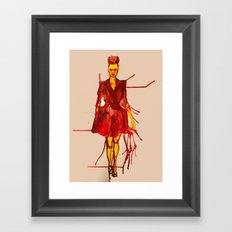 Models Ink 12 Framed Art Print