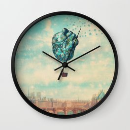 The Unforgettable Love Journey Wall Clock