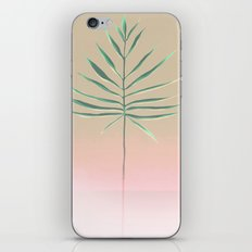 Pink & Palm iPhone & iPod Skin