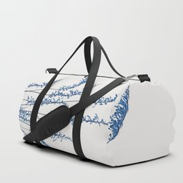 Blue flowers 2 Duffle Bag