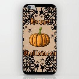 Vintage Halloween iPhone Skin
