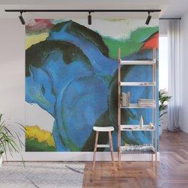 "Franz Marc ""The Little Blue Horses"" Wall Mural"