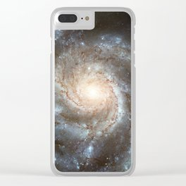 Spiral galaxy Clear iPhone Case