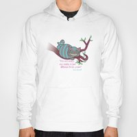 cheshire Hoodies featuring Cheshire cat by Pendientera