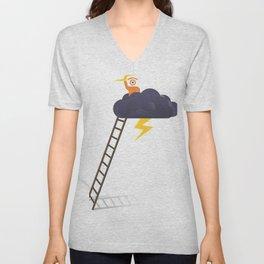 stormy glance Unisex V-Neck