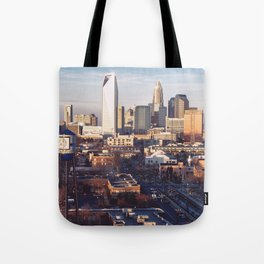 Queen City Shower Curtain Tote Bag