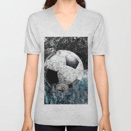 Modern soccer version 1 Unisex V-Neck