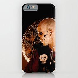 Mariachi And Fire - Dia De Los Muertos iPhone Case
