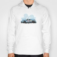 deadmau5 Hoodies featuring Deadmau5's Purrari 458 Spider by an.artwrok