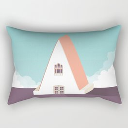 A is for Arquitecture Rectangular Pillow
