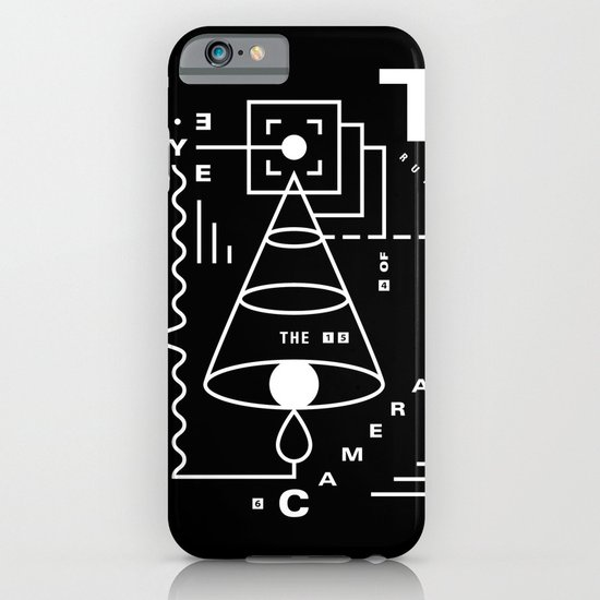 The Harsh Truth Of The Camera Eye iPhone & iPod Case