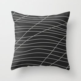 Black series 003 Throw Pillow