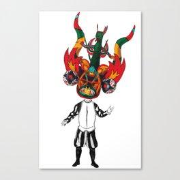 Diablada Canvas Print