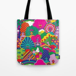 Girls Girls Girl Tote Bag