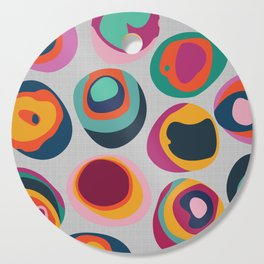 Rainbow Resin Cutting Board
