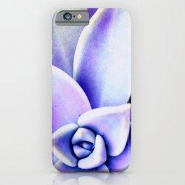 Lavender Succulent iPhone Case