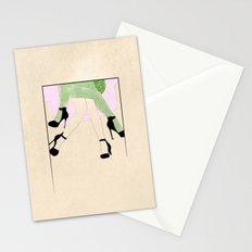 women sketch Stationery Cards