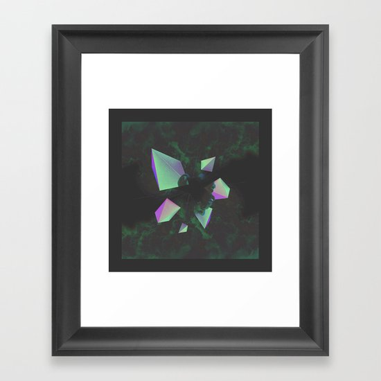 Disassembled Framed Art Print