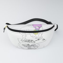Girl with cooking problems Fanny Pack