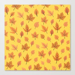 Hi Autumn Canvas Print
