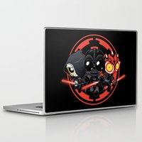 dark side Laptop & iPad Skins featuring Dark Side by Dooomcat