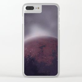 HALO RISING Clear iPhone Case