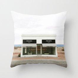 Highway 90 Throw Pillow