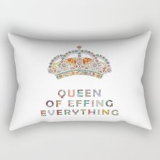 her daily motivation Rectangular Pillow