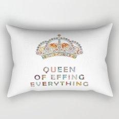 her daily motivation Rectangular Pillow