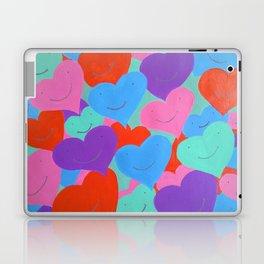Smiling Hearts Laptop & iPad Skin