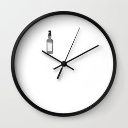 Funny Going Out Over the Weekend T-Shirt Wall Clock