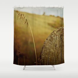 Just a Fence Post Shower Curtain