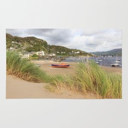 Barmouth Boats Rug