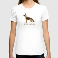 german shepherd T-shirts featuring German Shepherd by 52 Dogs