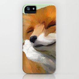 Smiling Fox iPhone Case